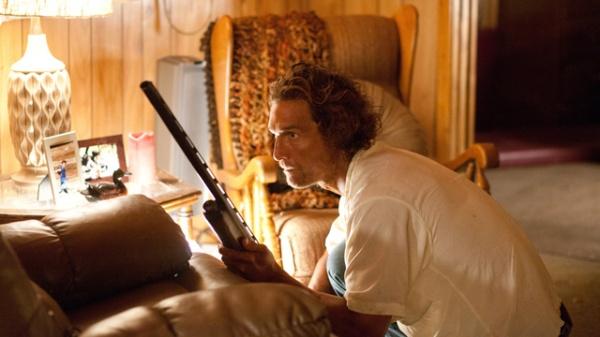 Film still from Mud featuring Matthew McConaughey